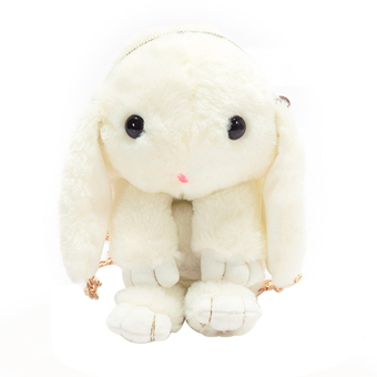 New Winter Plush Handbag Women Messenger Bag Bunny Shoulder Crossbody Bag - intl