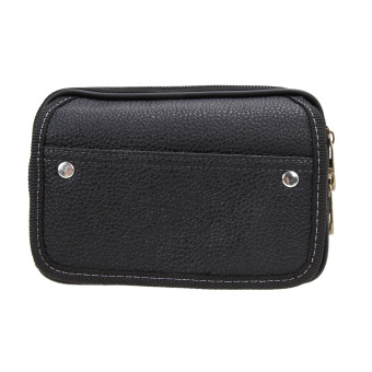 Men PU Leather Wallet (Black) - intl