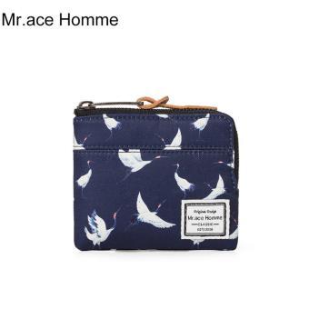 Ví Mini Mr.ace Homme M17028Q01 / Xanh đen