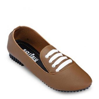 Giày oxford đinh nữ Sarisiu SRS806 (Bò)