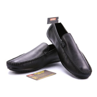 Giày lười nam da thật cao cấp Da Giày Việt Nam VNLMO8A012-1D