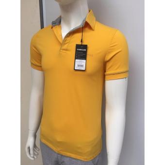 Áo Polo cao cấp hiệu Casilas (màu vàng)