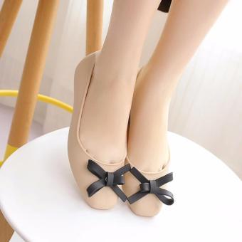 Giày búp bê nữ nơ xinh Fashion - GiayKS - BB001 (hồng)