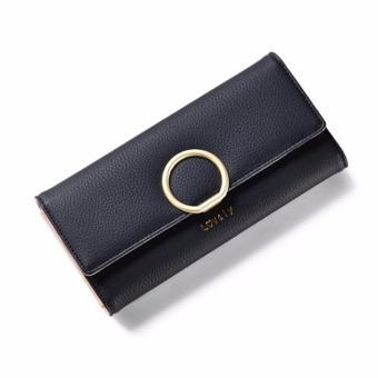Bóp ví nữ thời trang Weichan chính hãng A511-40 Win Win Shop - Đen