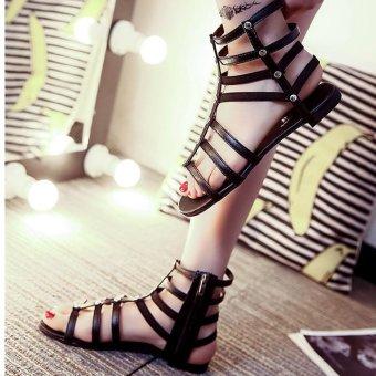 Giày sandal bệt chiến binh cổ lửng