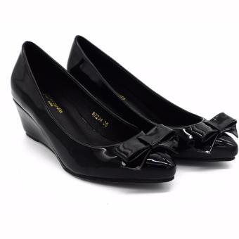 Giày búp bê đế xuồng cao cấp SB061-BLACK