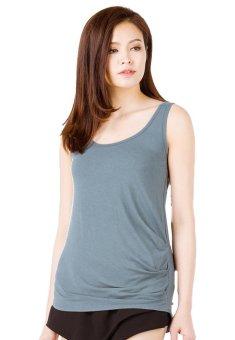 Áo nữ sợi tre thoáng mát Viện Dệt May VMD3 (Xanh jeans)