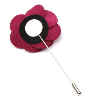 Lapel Flower Daisy Handmade Boutonniere Stick Brooch Pin Men's Accessories 4 - Intl - Intl