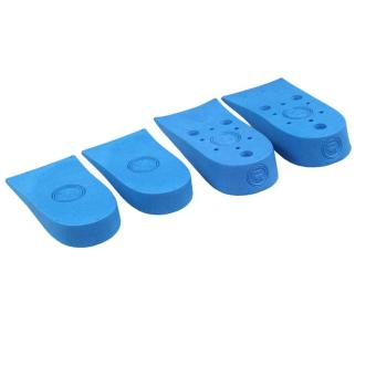 Blue Air Cushion 2 Layer 4.5cm Increase Height Shoe Insole Invisible Pad - intl