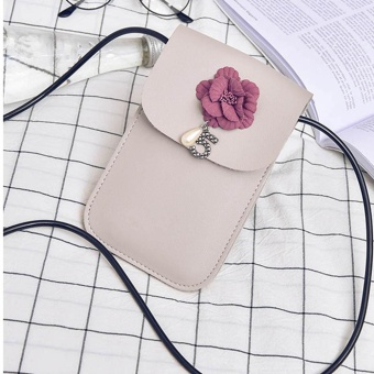 New Women Mini Cross Body Bag Mobile Phone Pouch Ladies Small Shoulder Bag GY - intl