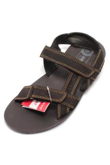 Giày xăng đan da bò cho nam Giày Đại Việt DMD318 (Đen)