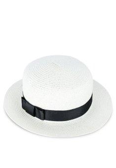 Nón Vành Panama Chất Liệu cói Julie Caps (Trắng Kem)