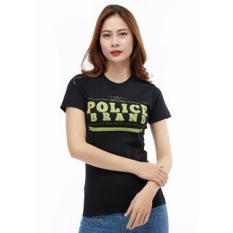 Áo Thun Nữ POLICE Nhập Khẩu Thái Lan (G283-BLACK)