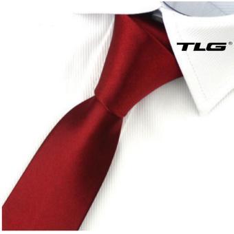 Cà Vạt Nam Bản Nhỏ Hq206252 4 (Đỏ)