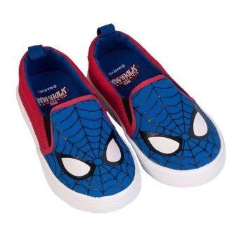 Giày Thể Thao Bé Trai Biti's Spider Man Người Nhện DSB120511XDG (Xanh dương)