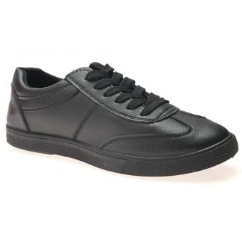Giày sneaker nam thể thao HNP GN024 (Đen)