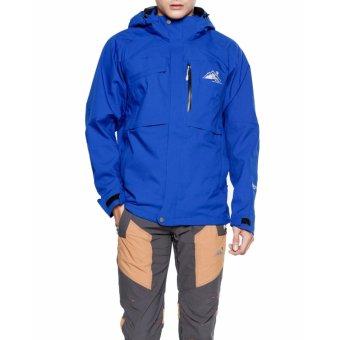 Áo khoác chống thấm đi mưa nam (Xanh dương)