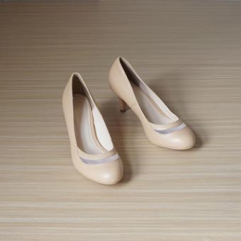 Giày cao gót UNI 0716 (Kem)
