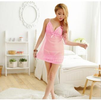 Đầm Ngủ Sexy Korea ( Hồng) D501