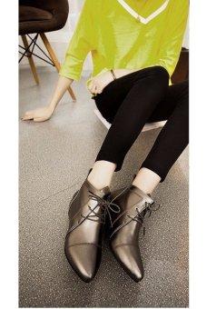 Giày oxford nữ cổ ngắn thiết kể cổ điển (Đồng)