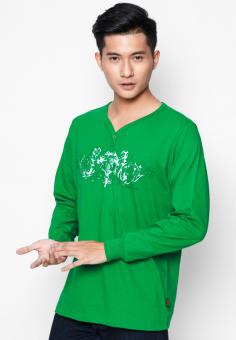 Áo phông OASIS Thái Lan MTXL663 (Xanh lá)