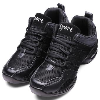 Women Trendy Athletic Sneakers Comfy Modern Jazz Hip Hop Dance Shoes Running - intl