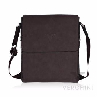 Túi xách nam Verchini màu nâu vân 004353