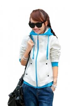Áo khoác nữ Fashion Huy Kiệt AK01 (Trắng)