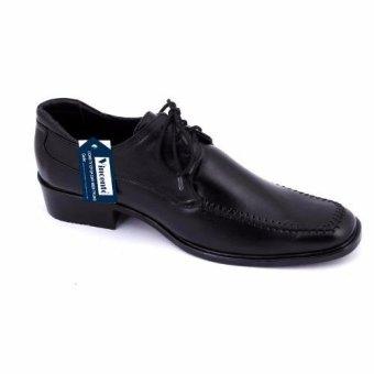 Giày tây nam công sở Da Thật chính hãng Giày Da Miền TrungVCT2LZ69D ( Đen )