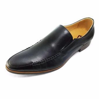 Giày Công Sở Lười Nam Ensado CS-A33 (Đen)