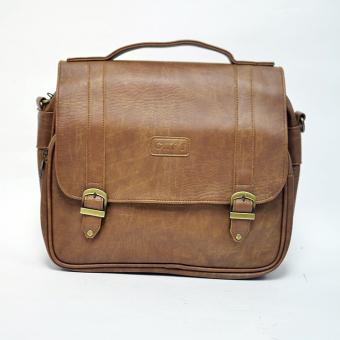 Túi đeo chéo đa năng CNT 09 Túi Xách CNT (Nâu nhạt)