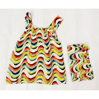 Bộ đồ mặc nhà 2 dây vải lanh siêu mát phối hoa LPH-602 (nhiều màu)