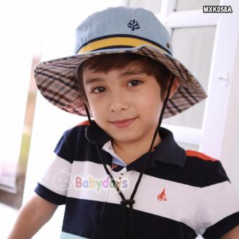 Mũ nón rộng vành cho bé MXK058