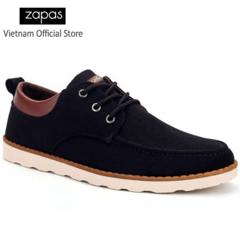 Giày Sneaker Thời Trang Zapas - GS022 (Màu Đen)