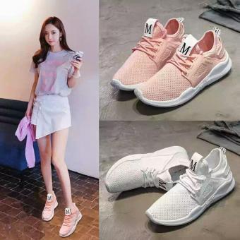 Giày sneaker nữ Ultra M - mẫu hot của năm - GiayKS - UltraM001 (trắng)