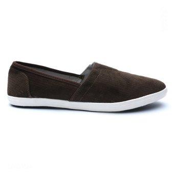 Giày lười nam hiệu Aqua Sportswear L002K (Rêu)