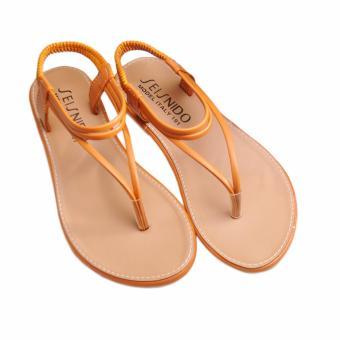 Giày xăng đan Lopez Cute D35 (Nâu)