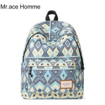 Balo Thời Trang Mr.ace Homme MR16C0417B01 / Xanh phối tím