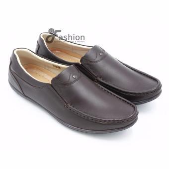 Giày Mọi Nam Da Thật GM226A (Nâu)