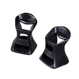2 PCS Women Lady High Heel Shoes Protector Covers Shoes Care Product Black M