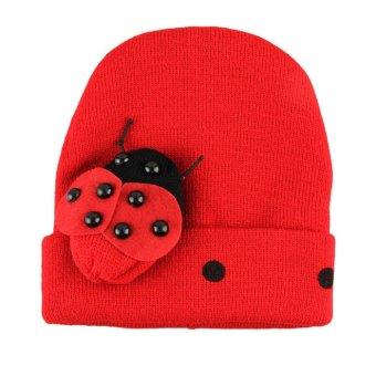 Cotton Beatles Hat Red