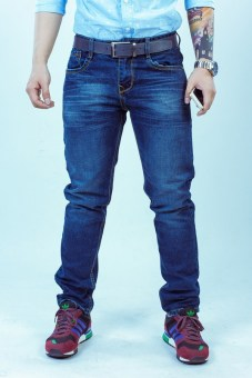 Quần jeans SAIGONBOY J49 (Xanh Đen)