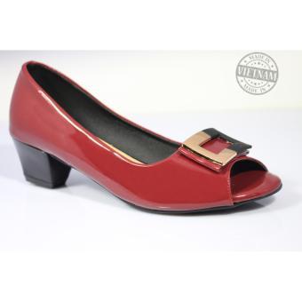 Giày cao gót đế vuông cao câp NT FASHION G5P-139501