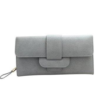 Lady Women Bifold Purse Clutch Wallet Small Bag Card Holder Quality Handbag - intl