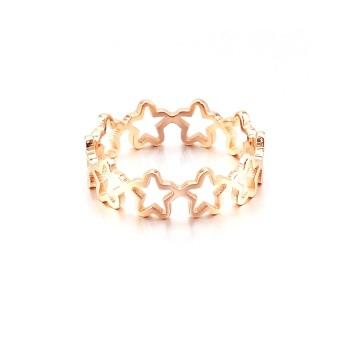 Nhẫn titan Bily Shop TITAN 755 (Vàng hồng)