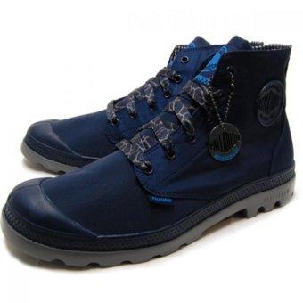 Giày thời trang unisex Palladium 03085-418-M (XANH NAVY)