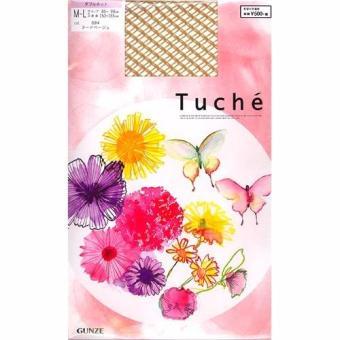 Quần tất lưới đen Gunze Tuche (Da)