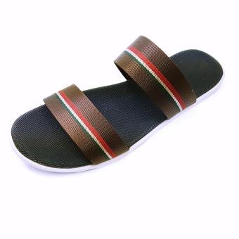 Sandals Quai Ngang Nam Ensado De02 (Nâu)