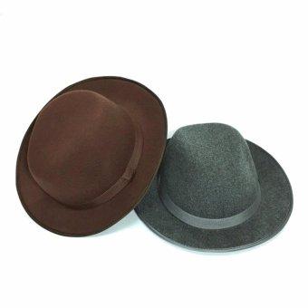 Bộ 2 nón vành Fedora cá tính MOTALO M233