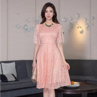 Đầm Ren Xòe Tiểu Thư Bui Nguyen (M,L,XL) - K60